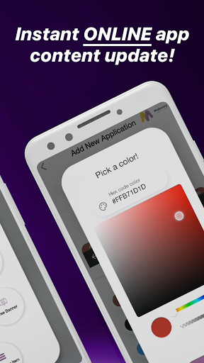 MobEasy : Create Mobile Apps without coding android2mod screenshots 4