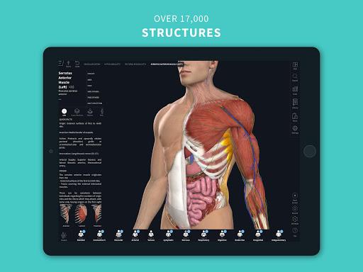 Complete Anatomy u201821 - 3D Human Body Atlas 6.4.0 Screenshots 10