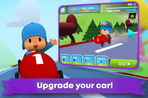 Pocoyo Racing: Kids Car Race - Fast 3D Adventure  screenshots 5