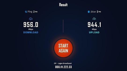 Internet Speed Test-FiberTest for Android Smart TV Apk İndir 3