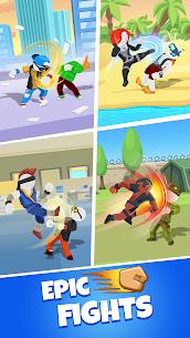 Match Hit Mod Apk- Puzzle Fighter (God Mode) 3