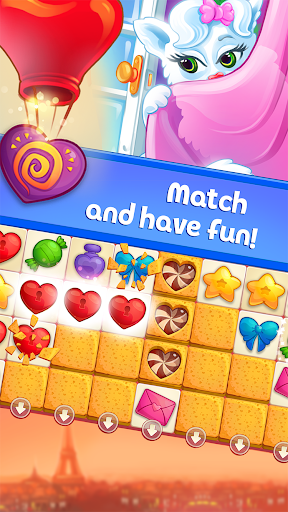 Sweet Hearts - Cute Candy Match 3 Puzzle  screenshots 2