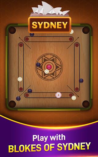 Carrom Board Game Online   Play Carrom Stars in 3D  screenshots 6