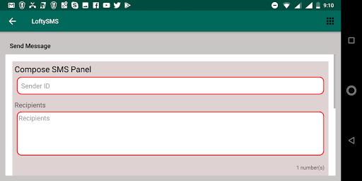 Loftysms Application  Screenshots 9