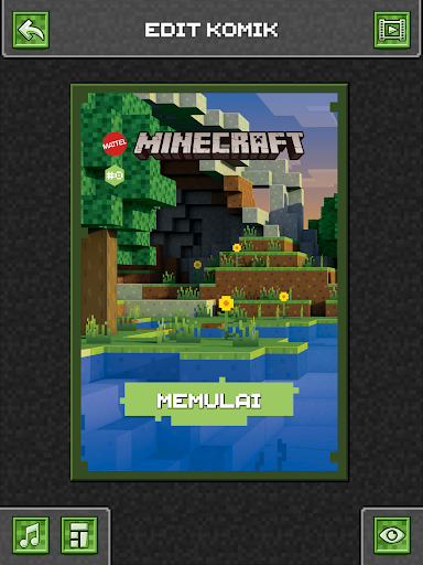 Comic Maker untuk Minecraft