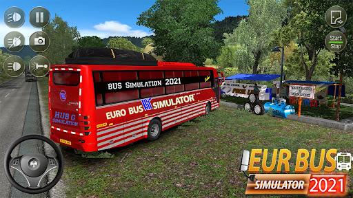 Euro Bus Simulator 2021 : Ultimate Bus Driving  screenshots 6