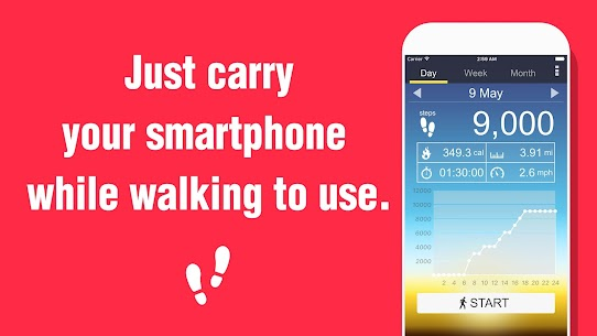 Pedometer – Step Counter 5.36 MOD for Android 3
