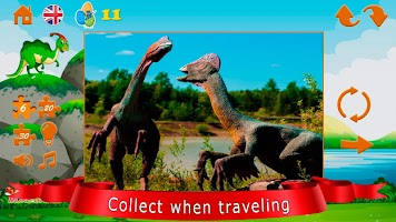 Puzzles dinosaurs