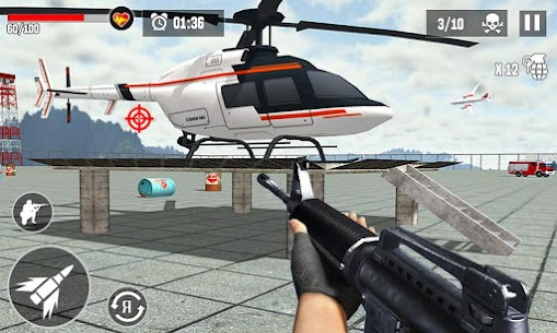 Anti-Terrorist Shooting Mission 2021 Mod Apk (Dumb Enemy) 4