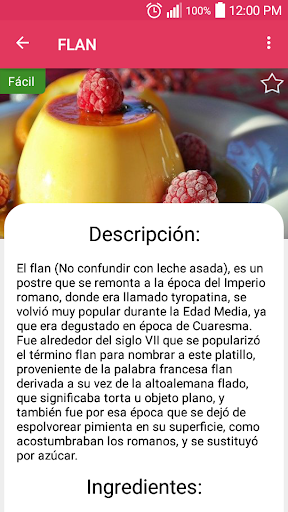 Dessert Recipes 1.0 screenshots 6
