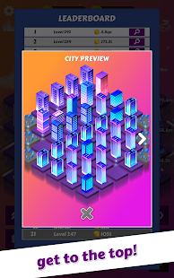 Merge City: idle city building game Screenshot