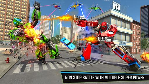 Drone Robot Car Game - Robot Transforming Games screenshots 2