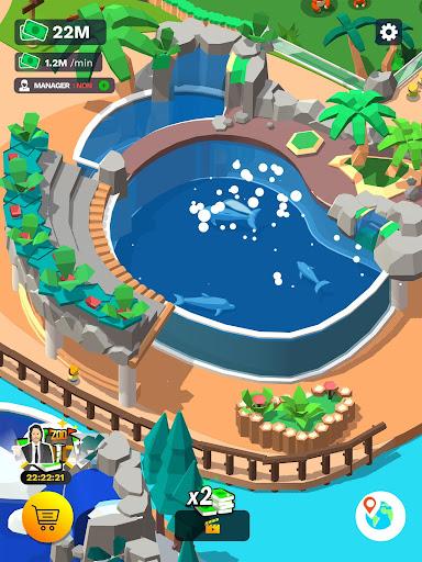 Idle Zoo Tycoon 3D - Animal Park Game 1.6.13 Screenshots 6