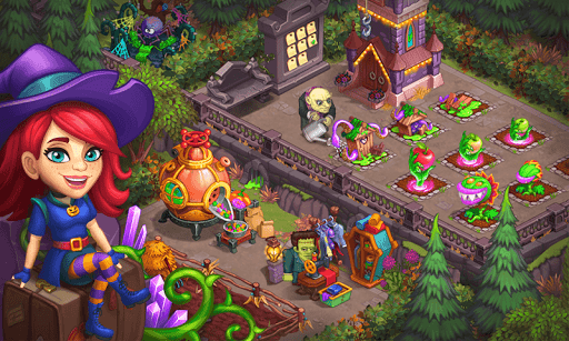 Monster Farm - Happy Ghost Village - Witch Mansion 1.60 screenshots 6