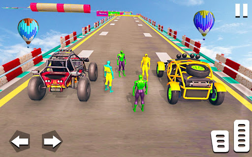 Superhero Buggy GT Mega Ramp Stunts Free 1.1 Screenshots 2