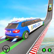 Police Limo Car Stunt Games : Mega Ramp Car Games