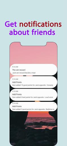 Points - Behavior tasks rewards  Screenshots 5