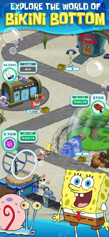 SpongeBob's Idle Adventures poster 1