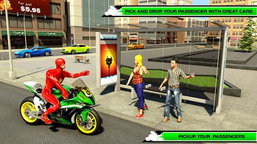 Superhero Bike Taxi Simulator 1.2 screenshots 1