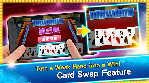 u795eu4f86u4e5fu64b2u514bPoker - Big2, Sevens, Landlord, Chinese Poker 10.3.5 screenshots 2