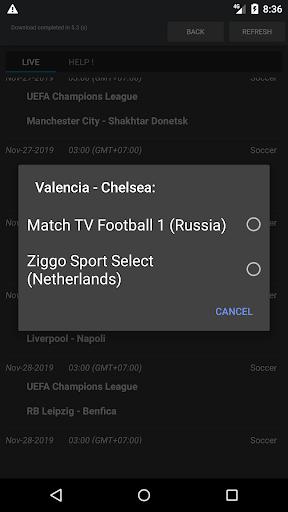 Sport Schedule 1.03 Screenshots 4