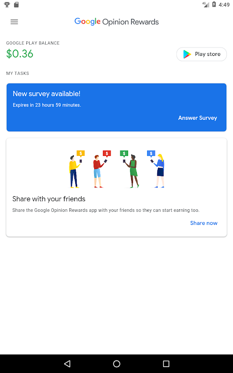 Google Opinion Rewards  poster 9