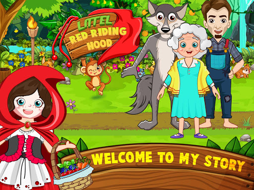 Mini Town: Red Riding Hood Fairy Tale Kids Games modavailable screenshots 10