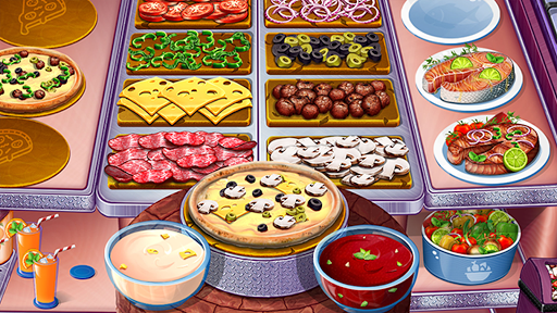 Cooking Urban Food - Fast Restaurant Games 8.7 screenshots 4