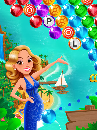Bubble Pop: Wheel of Fortune! Puzzle Word Shooter apkpoly screenshots 13