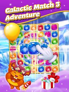 Galactic Adventure: match three puzzle
