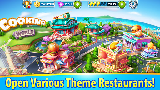 Cooking World - Craze Kitchen Free Cooking Games 2.3.5030 screenshots 8