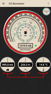 DS Barometer - Altimeter and Weather Information 3.78 Screenshots 4