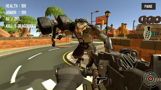 Monster Killing City Shooting II  screenshots 4