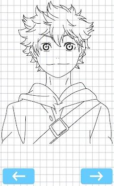 How to draw Haikyuu anime charactersのおすすめ画像2