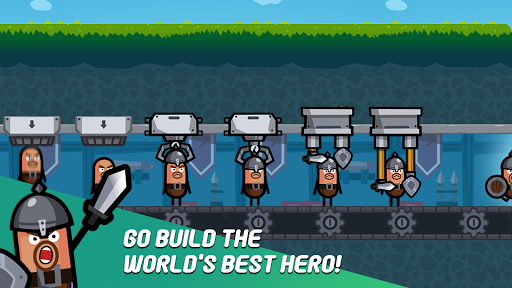 Hero Factory - Idle Factory Manager Tycoon screenshots 3