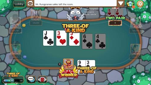 Dummy & Toon Poker Texas slot Online Card Game  Screenshots 8
