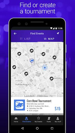 aca cornhole tournament game screenshot 2