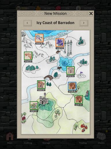 Heroes and Merchants RPG apkslow screenshots 20