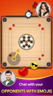 Carrom board game - Carrom online multiplayer 22 screenshots 3