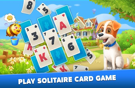 Solitaire: Texas Village (Unlimited Money) 2
