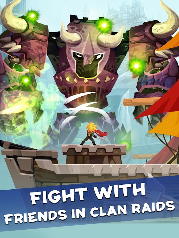 Tap Titans 2: Heroes Attack Titans. Clicker on! poster 9