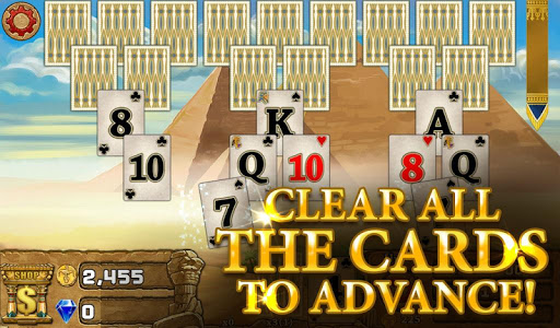 3 Pyramid Tripeaks Solitaire - Free Card Game apktreat screenshots 2