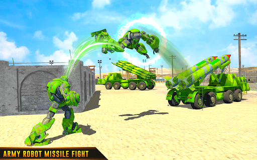 US Army Robot Missile Attack: Truck Robot Games 23 Screenshots 12