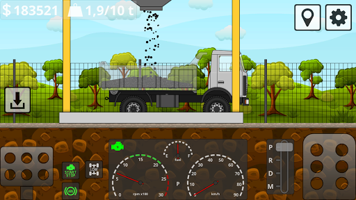 Mini Trucker - 2D offroad truck simulator modavailable screenshots 3