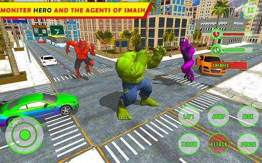 Unbelievable Superhero monster fighting games 2020 1.1 screenshots 2