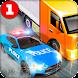 貨物トラック– 警察の追跡 ローダ トラック運転手 - Androidアプリ