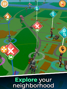 Magic Streets – Location based RPG Mod Apk (Unlimited Gold/Diamonds) 8