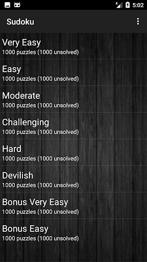 Sudoku free App for Android 2.0 screenshots 2