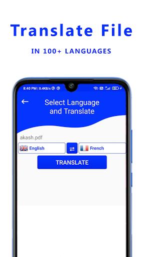 File Translator : PDF Translator apktram screenshots 5