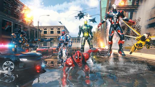 Iron Avenger - No Limits apkpoly screenshots 1